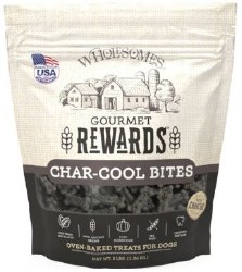 SPORTMiX Wholesomes Grain Free Premium Gourmet Biscuit with Natural Bone Charcoal and Mint Flavor Dog Treats 3lb