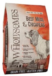 SPORTMiX Wholesomes Beef Meal and Chickpea Formula Grain Free Dry Dog Food 35lb