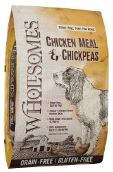 SPORTMiX Wholesomes Chicken Meal and Chickpea Formula Grain Free Dry Dog Food 35lb