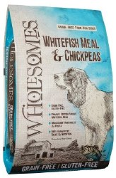 SPORTMiX Wholesomes Whitefish Meal and Chickpea Formula Grain Free Dry Dog Food 35lb