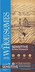 Wholesomes Sensitive Skin & Stomach with Salmon Protein