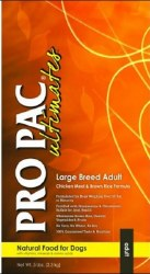 Pro Pac Ultimates Chicken Meal and Brown Rice Large Breed Adult Dry Dog Food 5lb