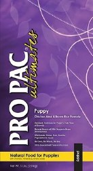 Pro Pac Ultimates Chicken Meal and Brown Rice Puppy Dry Dog Food 5lb