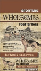 Wholesome Beef Rice 40lb