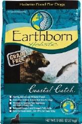Earthborn Holistic Coastal Catch Grain Free Natural Dry Dog Food 5lb