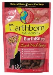 Earthborn Holistic EarthBites Lamb Meal Recipe Natural Moist Treats For Dogs 7.5oz