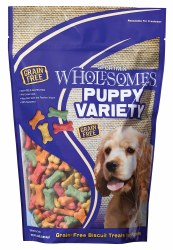 SPORTMiX Wholesome Grain Free Puppy Variety Biscuit Dog Treats 2lb