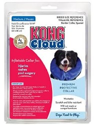 "Kong Cloud Collar Md 10-14"""