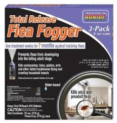 Total Release Flea Fogger 3Pk
