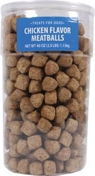 Sunshine Mills Chicken Meatball Dog Treats 40oz