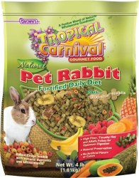 Browns Tropical Carnival Natural Rabbit Daily Diet 4lb