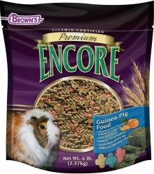 Brown's Encore Premium Guinea Pig Food 4lb