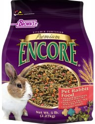 Browns Encore Premium Rabbit Food 5lb