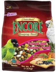 Browns Gourmet Encore Foraging Feast Parrot Food 4lbs
