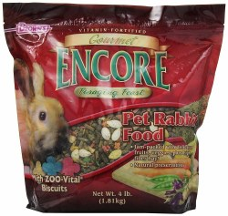 Browns Gourmet Encore Foraging Feast Rabbit Food 4lb