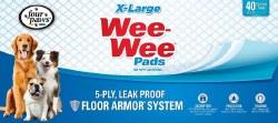 Wee Wee Pads XLarge 40Pack