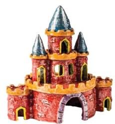 Glofish Castle Ornament