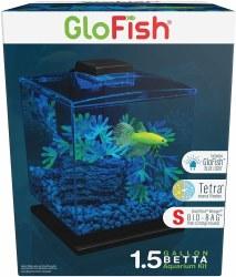 GloFish Aquarium Kit 1.5Gallon