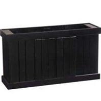 Cabinet Stand Black 48x13