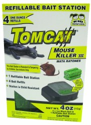 Tomcat Refillable Mouse Killer