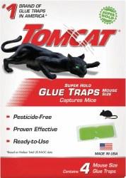 Tomcat Glue Traps 4pk