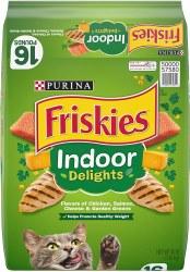 Friskies Indoor Delights Dry Cat Food 16lb