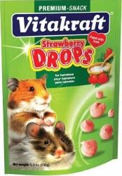 Strawberry Hamster Drops