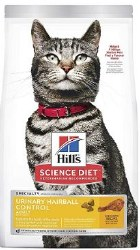 Hills Science Diet Urinary Hairball Control W/Chicken 3.5lb