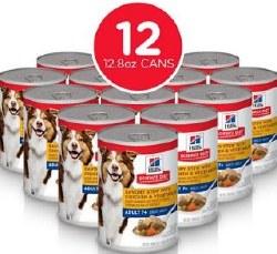 Hills Science Diet Adult 7+ Savory Stew W/ Chicken & Vegatables