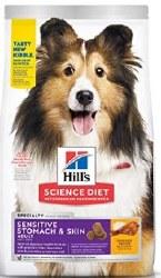 Hills Science Diet Sensitive Skin & Stomach Adult W/Chicken 30lb