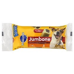 Pedigree Medium Jumbone Real Beef Flavor Dog Treats 7.5oz
