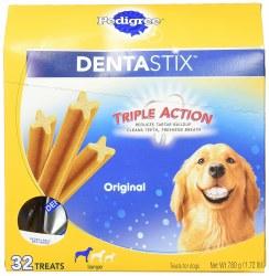 Pedigree Dentastix Large Original Dog Treats 32pk