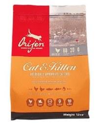 Orijen Grain Free Cat and Kitten Trial Size Dry Cat Food 12oz