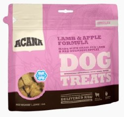 Acana Singles Limited Ingredient Diet Lamb and Apple Formula Dog Treats 1.25oz