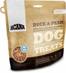 Acana Singles Limited Ingredient Diet Duck and Pear Formula Dog Treats 1.25oz