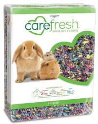 Carefresh Confetti Bedding 50L