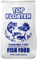 Top Floater Fish Food 50lbs
