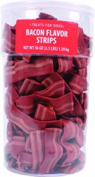 Sunshine Mills Bacon Flavor Strips Dog Treats 56oz
