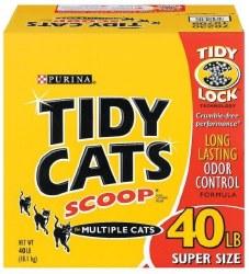 Tidy Cat Scoop LLOC Box 40Lbs