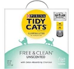 Tidy Cat Free & Clean Box 40L