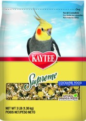 Kaytee Natural Supreme Cokatiel Food 3lb Bag