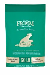 Fromm Gold Holistic Large Breed Adult Dog Food 33lb