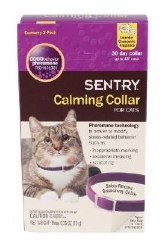 Sentry Calming Collar 3pk-Cats