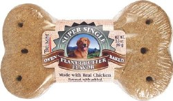 Triumph Super Single Biscuit Peanut Butter Flavor Dog Treat 3.5oz
