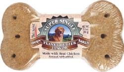 Triumph Super Single Biscuit Peanut Butter Flavor Dog Treat 3.5oz