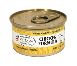Triumph Chicken Formula Premium Canned Cat Food 3oz