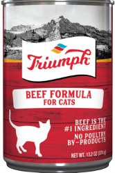 Triumph Beef Formula Premium Canned Cat Food 13oz