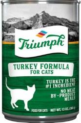 Triumph Turkey Formula Premium Canned Cat Food 13oz