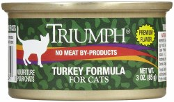 Triumph Turkey Formula Premium Canned Cat Food 3oz