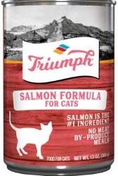 Triumph Salmon Formula Premium Canned Cat Food 13oz